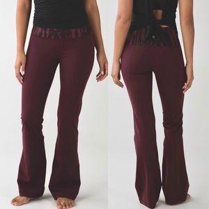 Lululemon Groove Pant III Luon Flare Yoga Leggings